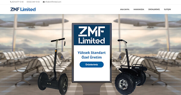 ZMF Limited | ALGORİT IT & Consultancy Project